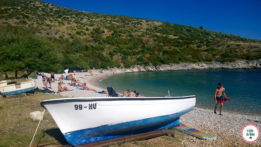 Praias em Hvar Croácia
