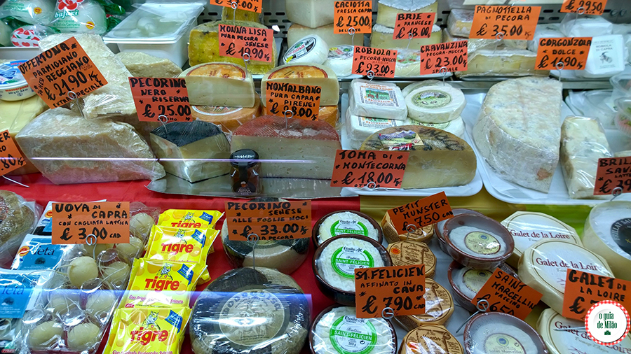 Supermercado em Milão
