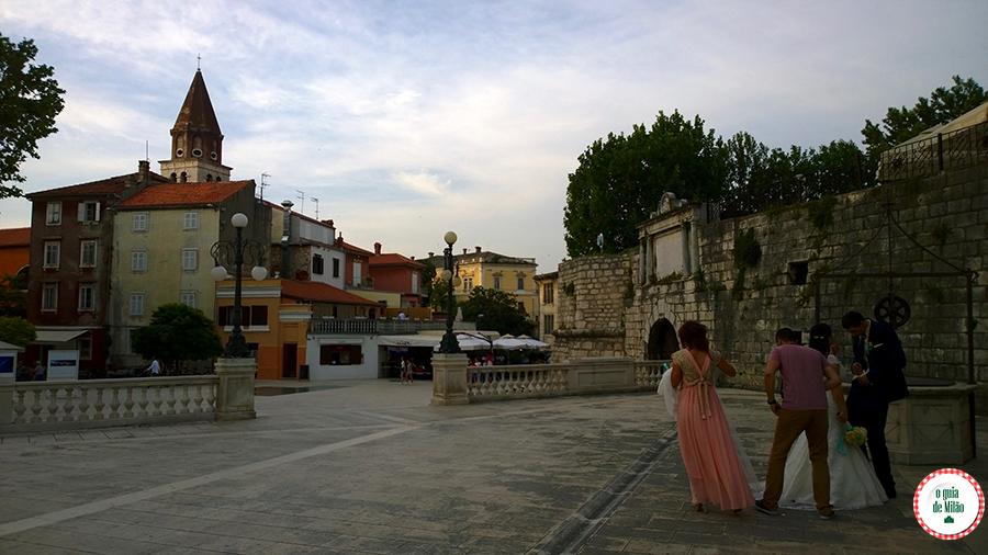 Turismo em Zadar Croácia