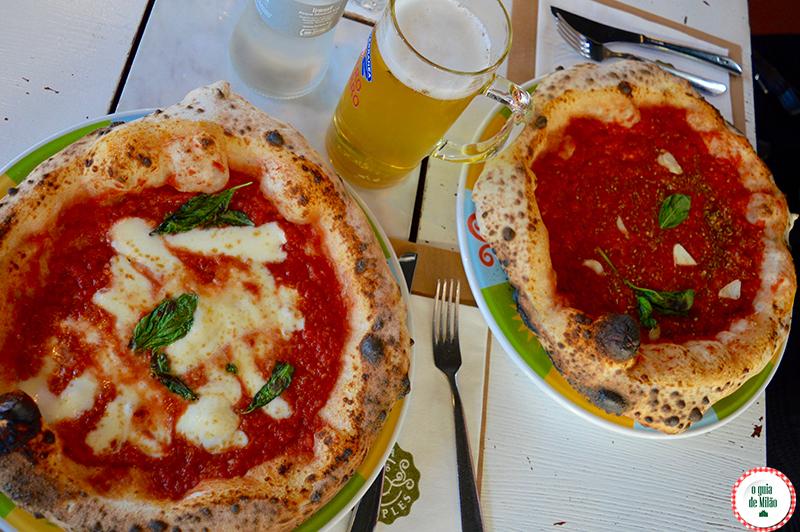 Dica de pizzarias em Milão