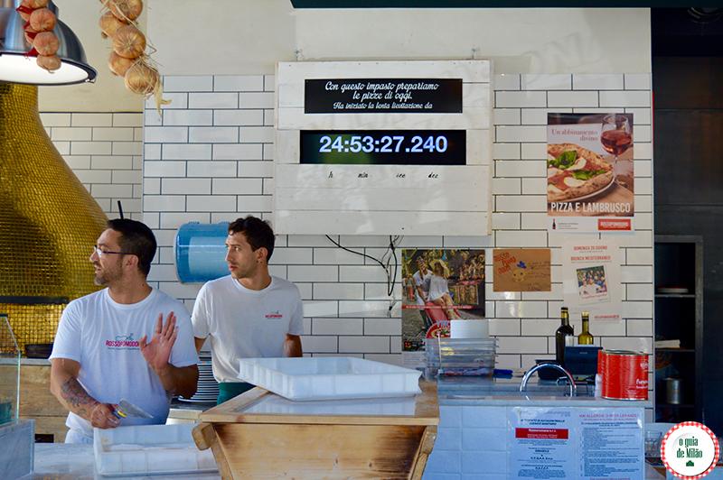Onde comer barato em Milão A verdadeira Pizza Margherita Napoletana em Milão