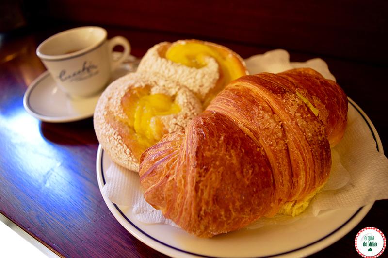 cafe de manha em Milão onde comer barato em Milão