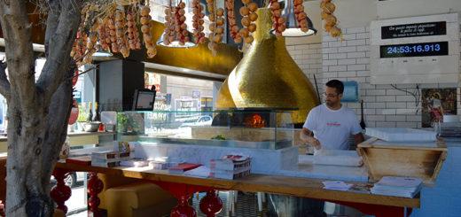 Pizzaria Rossopomodoro Milão Itália Bairro Porta Romana