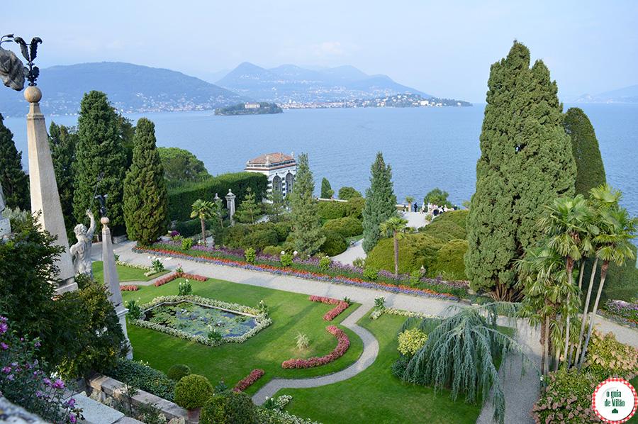 Ilhas do Lago maggiore Turismo no Lago Maior Itália Isola Bella
