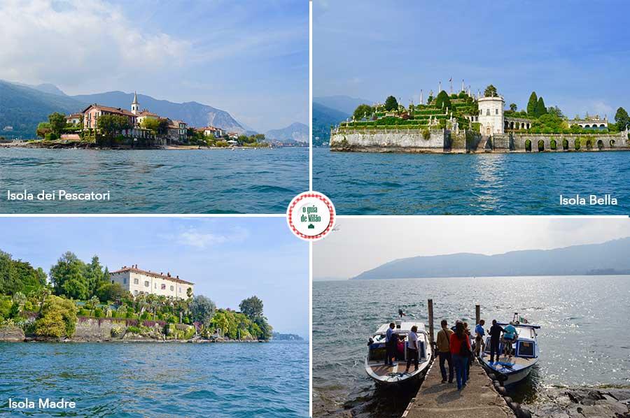 Infromações turismo das ilhas do lago Maior Itália Ilha Bella Ilha Madre Ilha dos pescadores