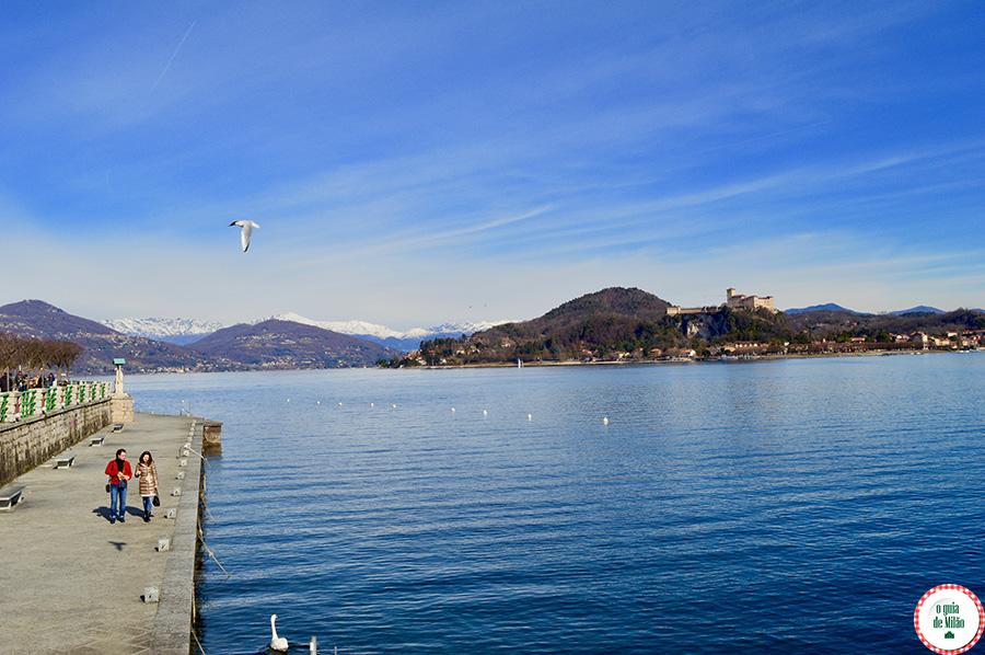 lago maior italia Arona
