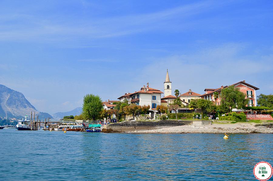 O que fazer no Lago Maggiore Itália Ilha Superiore dei Pescatori Lago Maior Itália