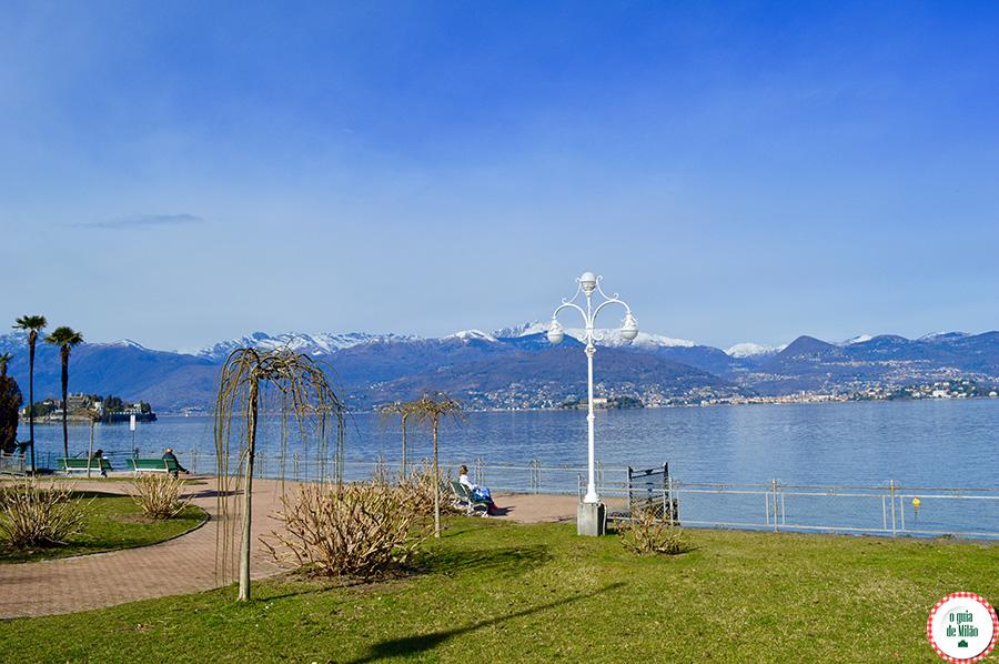 O que visitar no lago Maior Itália Ciudade de Stresa Lago Maggiore Itália