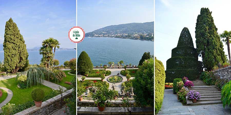Turismo no Lago Maior Itália Ilha Madre Lago Maggiore