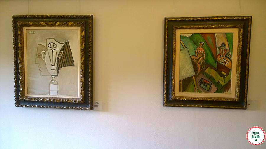 Obras de Picasso em Milão Galeria de Arte Moderna de Milão Itália