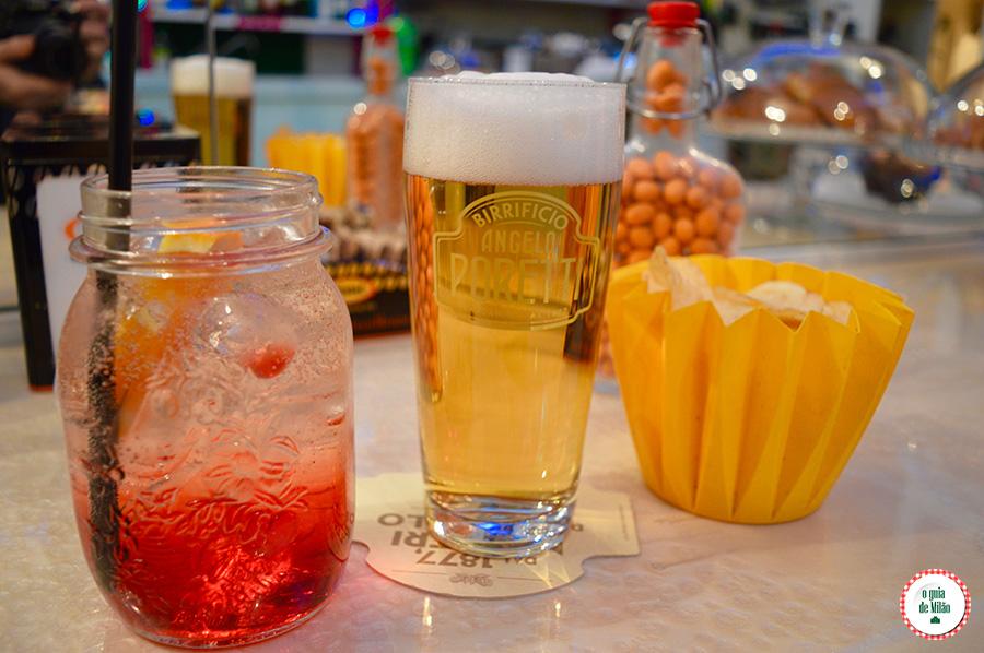 Noite em Milão os bares de Milão