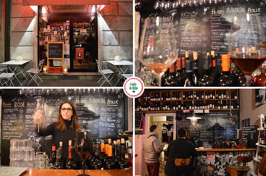 O que fazer a noite em Milão onde beber Vinho e comer bem