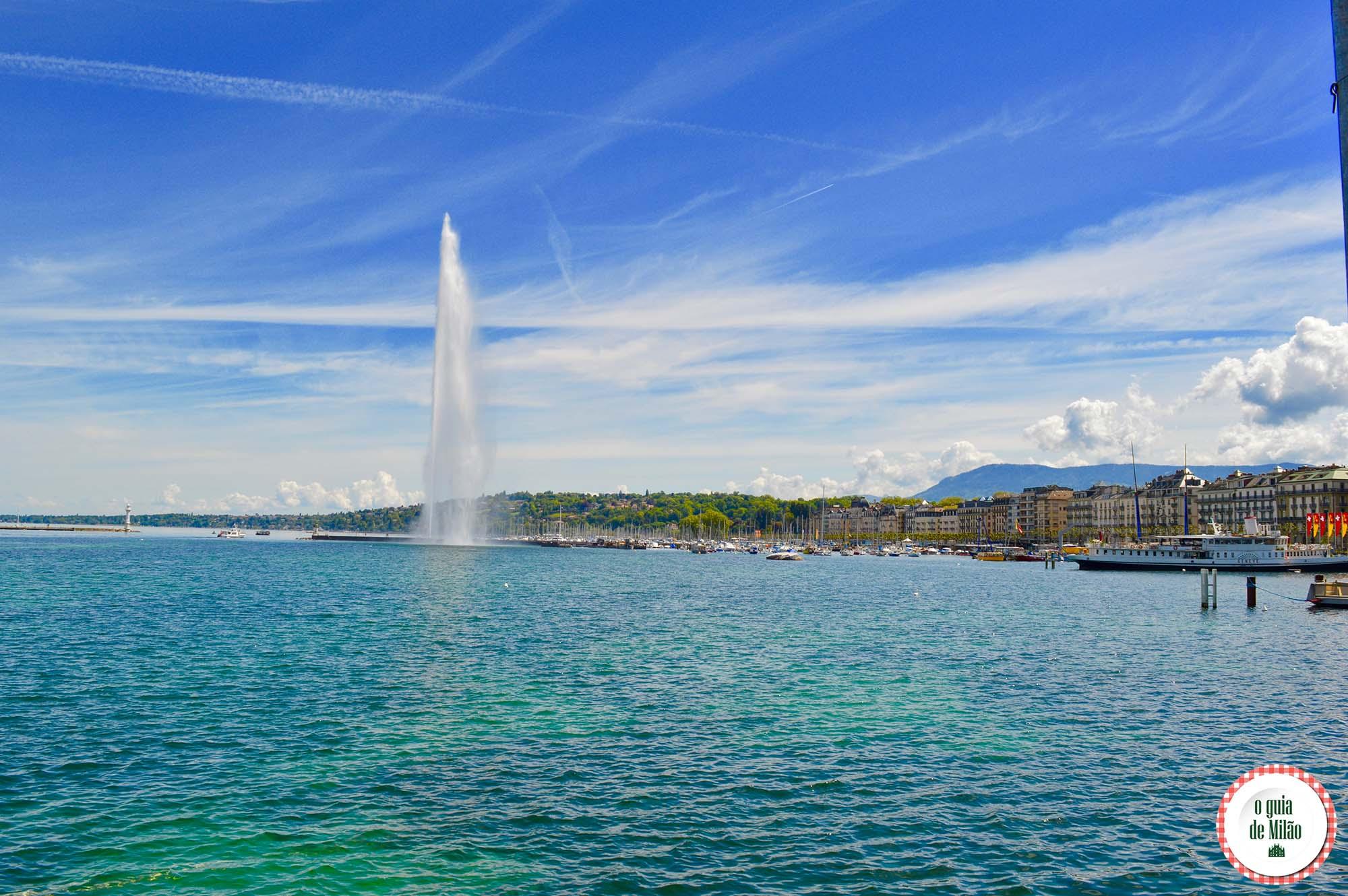 O que fazer em Genebra
