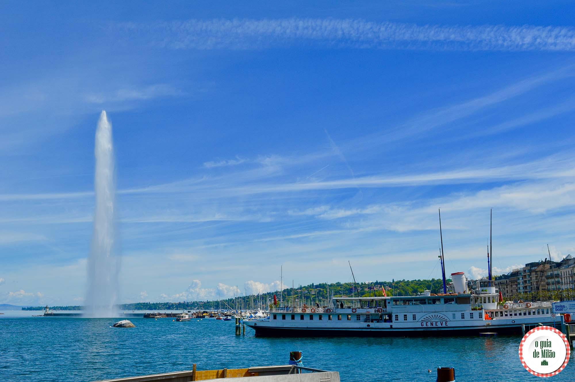 Os principais pontos turísticos de Genebra