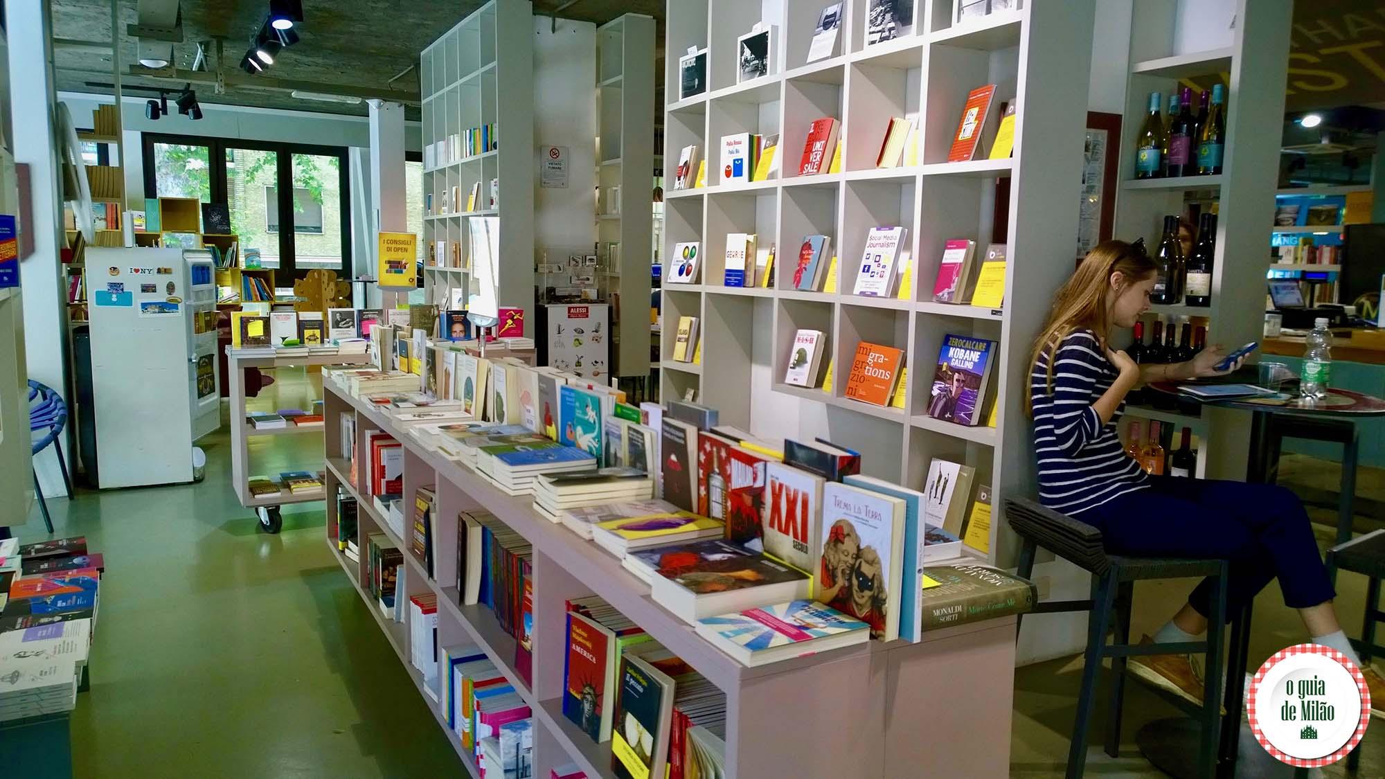 Open More than books Milano: coworking em Milão