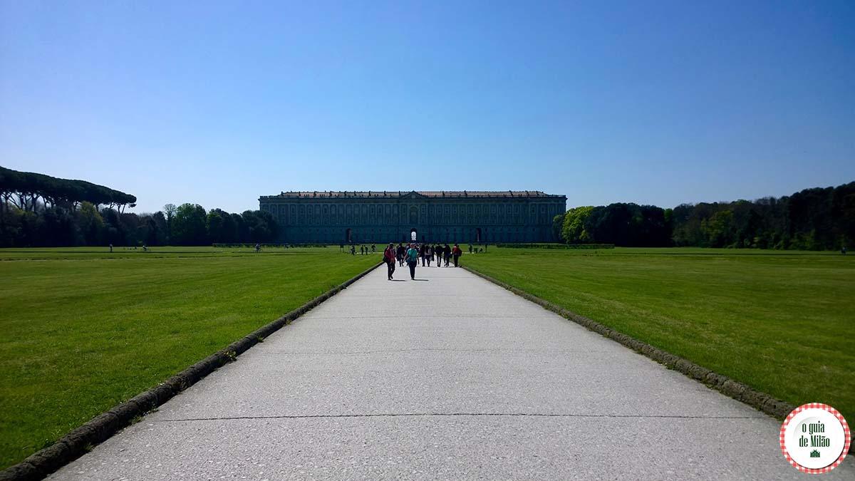 Reggia di Caserta: o palácio real de Caserta Itália