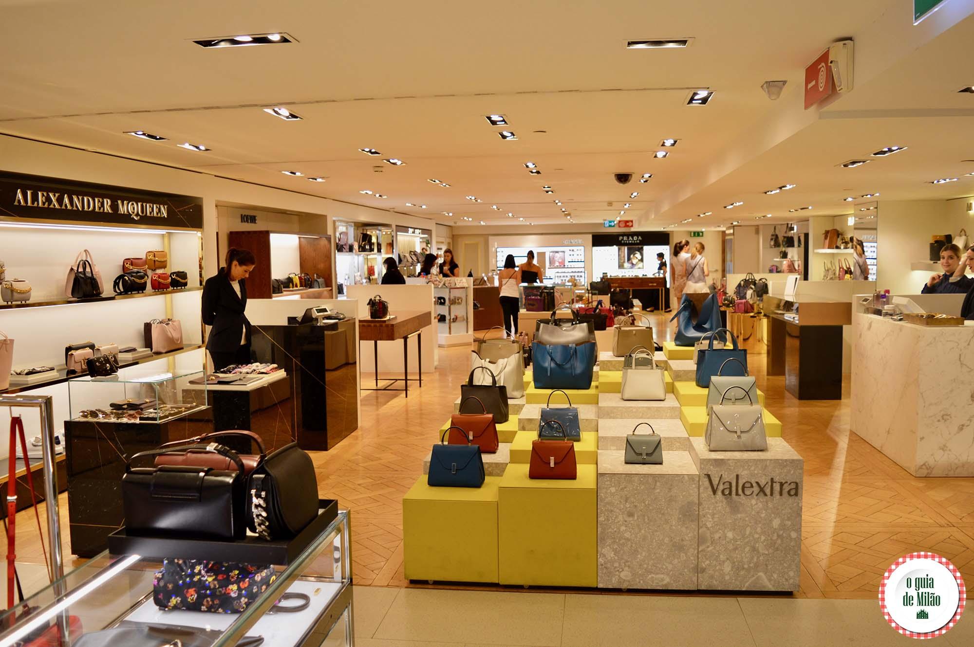 Dicas de onde fazer compras em Milão - O Guia de Milão 32e8f6a20408