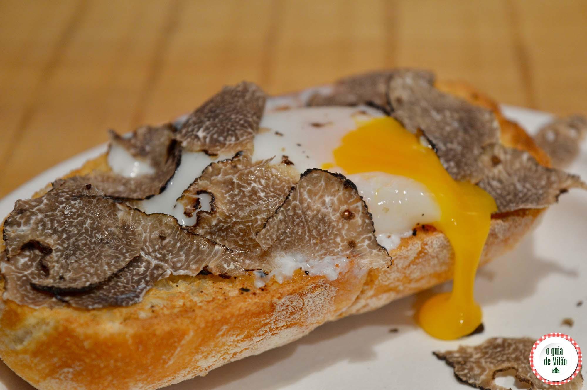 Ten Grams: fast food de trufas em Milão
