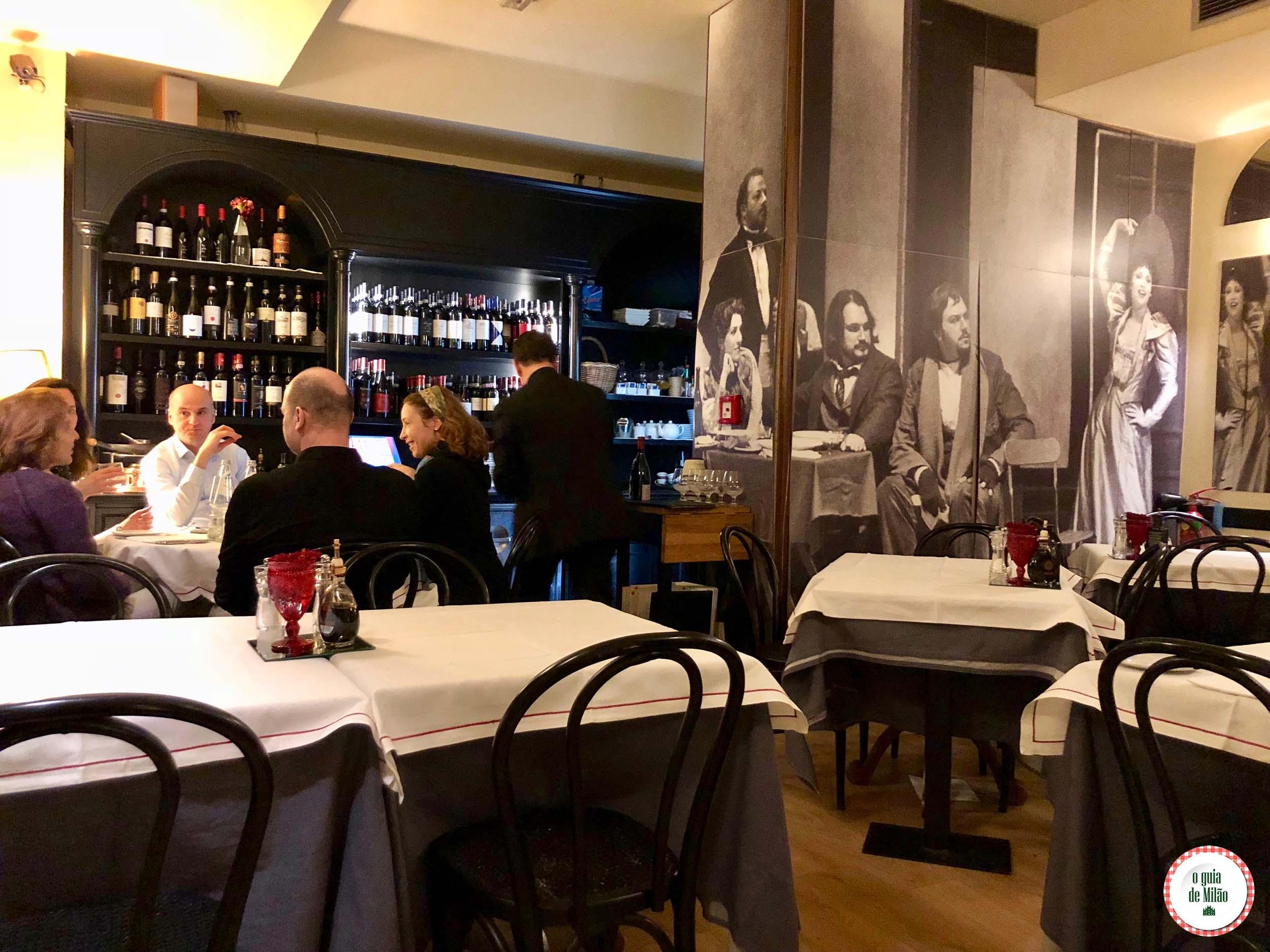 Restaurante Nabucco em Milão