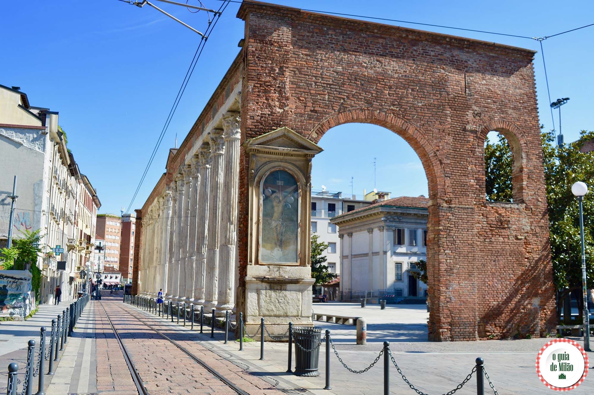 Colonne di San Lorenzo Milão