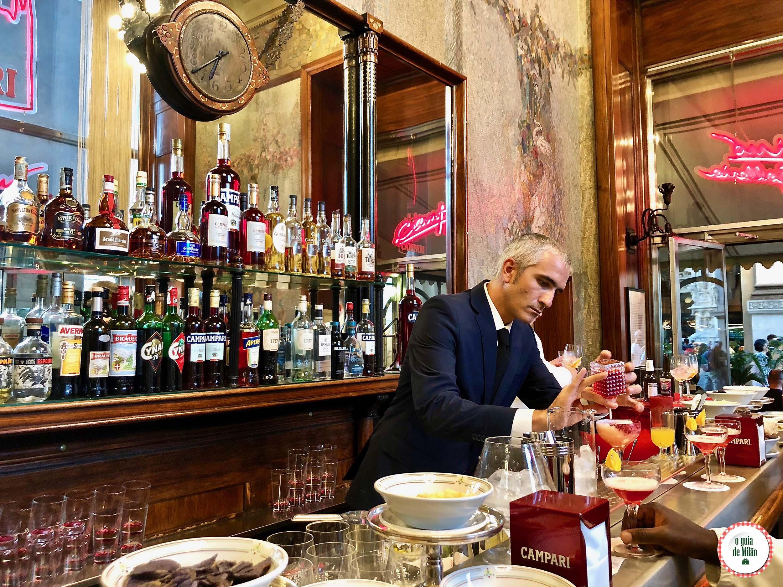 Bar Camparino em Milão