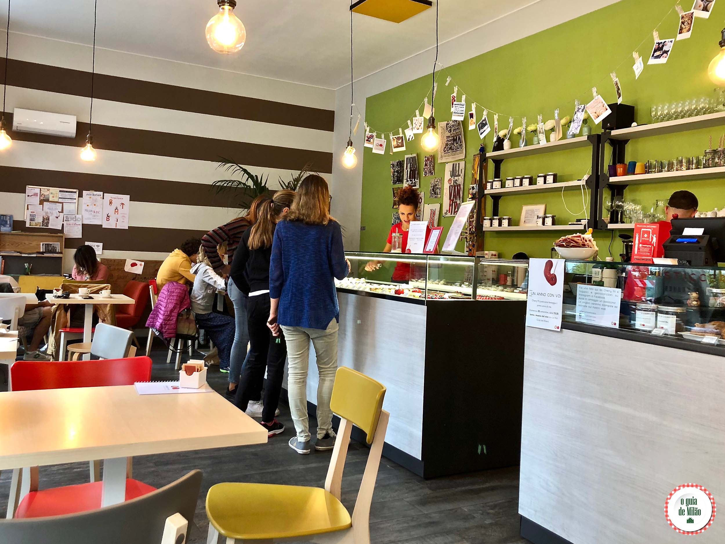 Confeitaria Cherry Pit em Milão