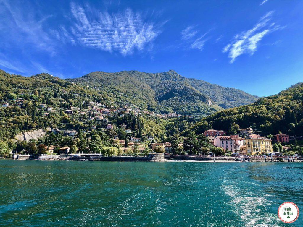 Lago de Como Itália
