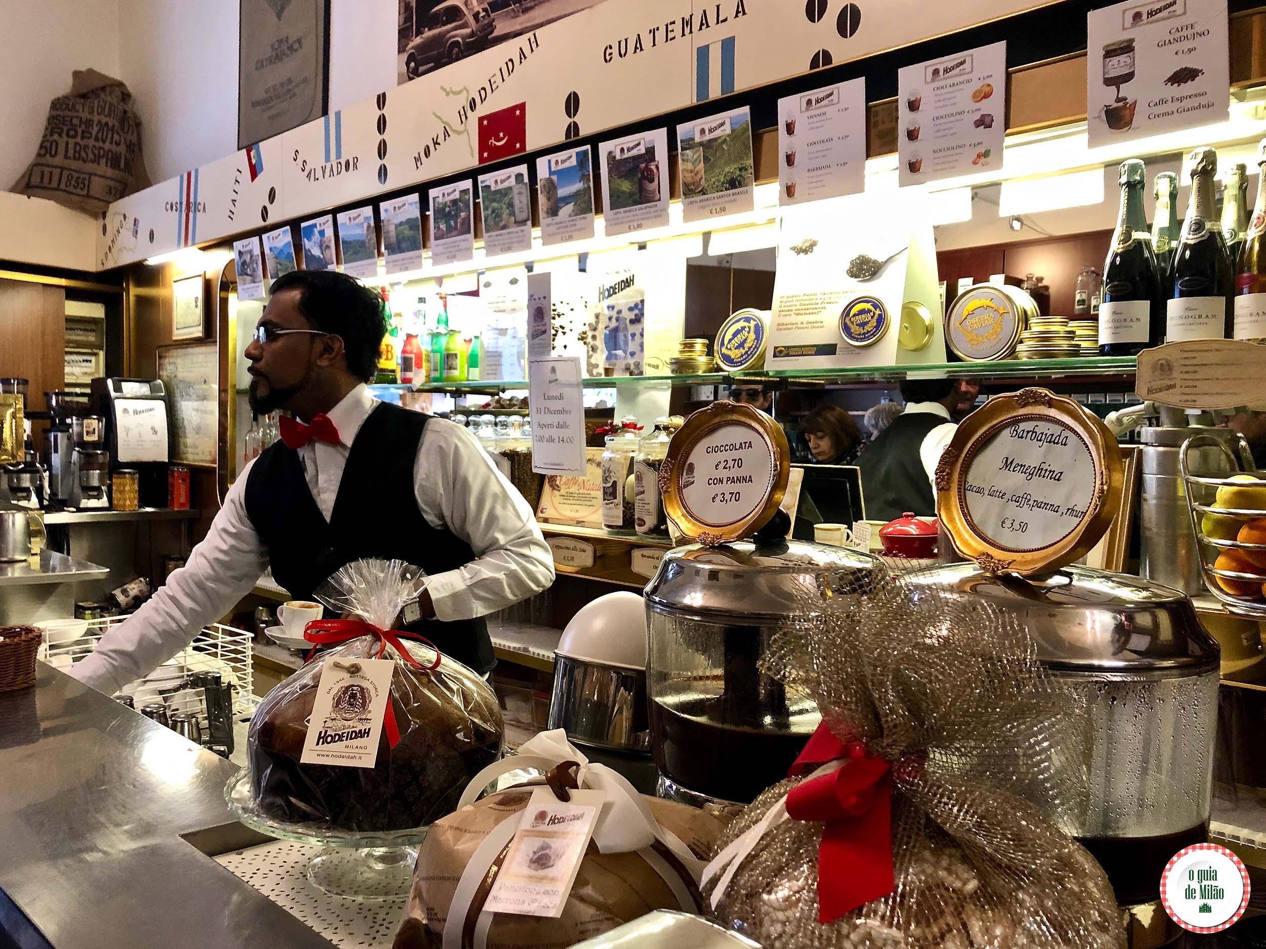 Cafeteria Moka Hodeidah em Milão
