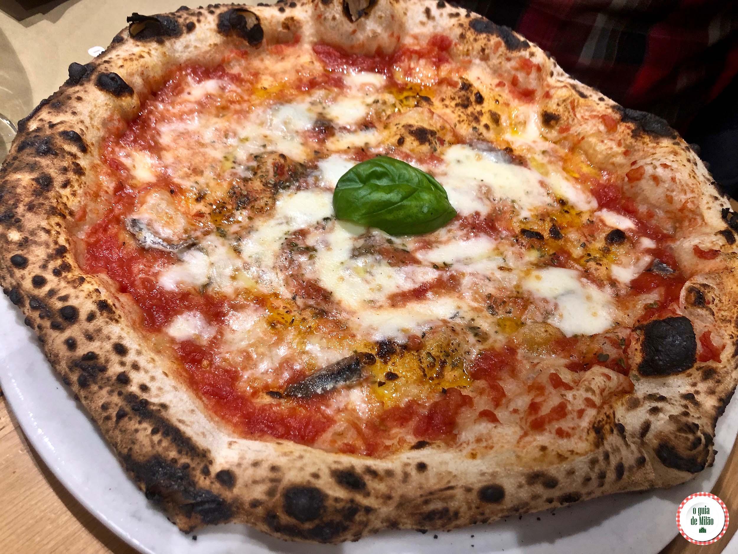 Pizzaria Da Zero em Milão