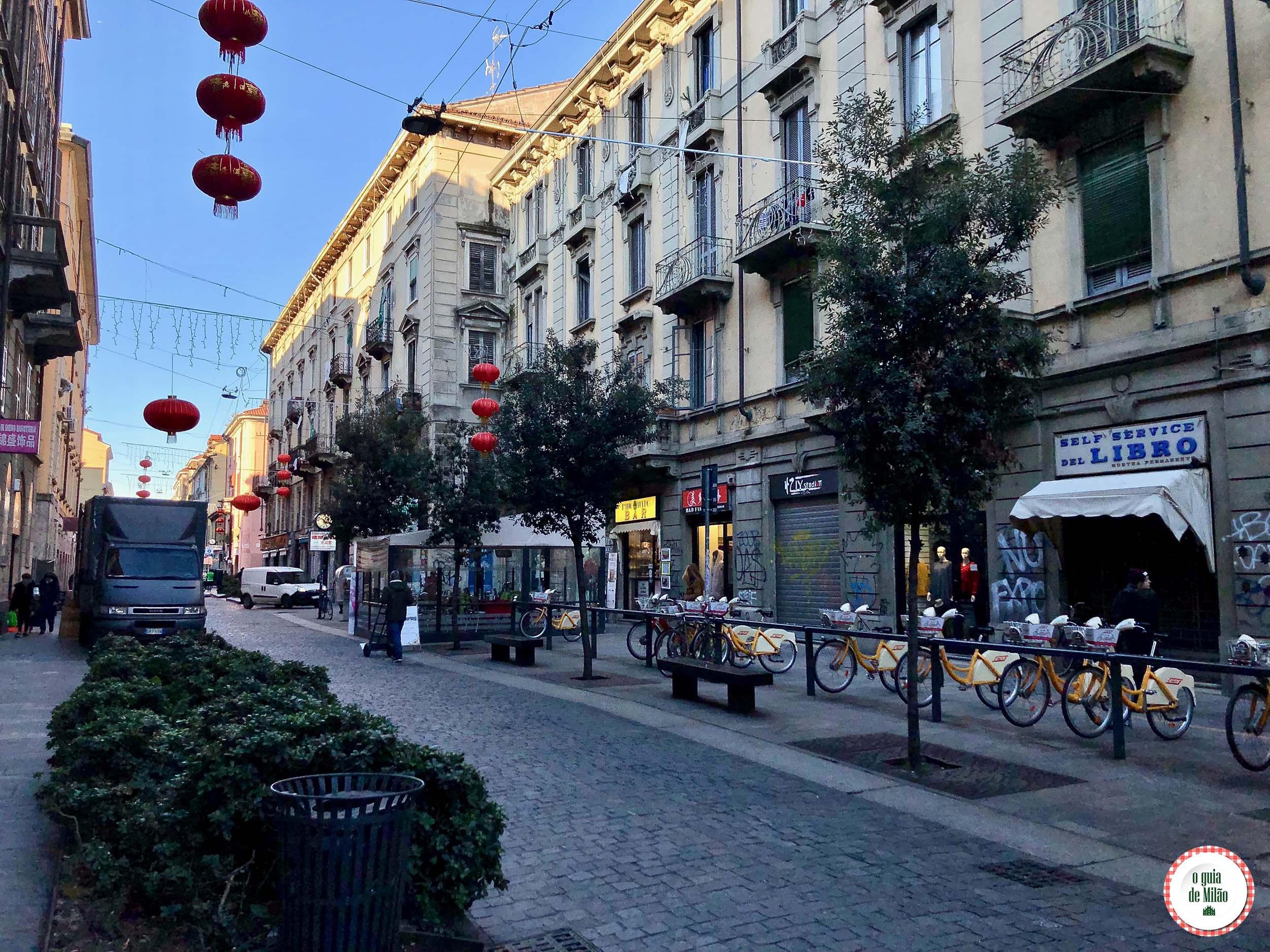 O que fazer na Chinatown de Milão