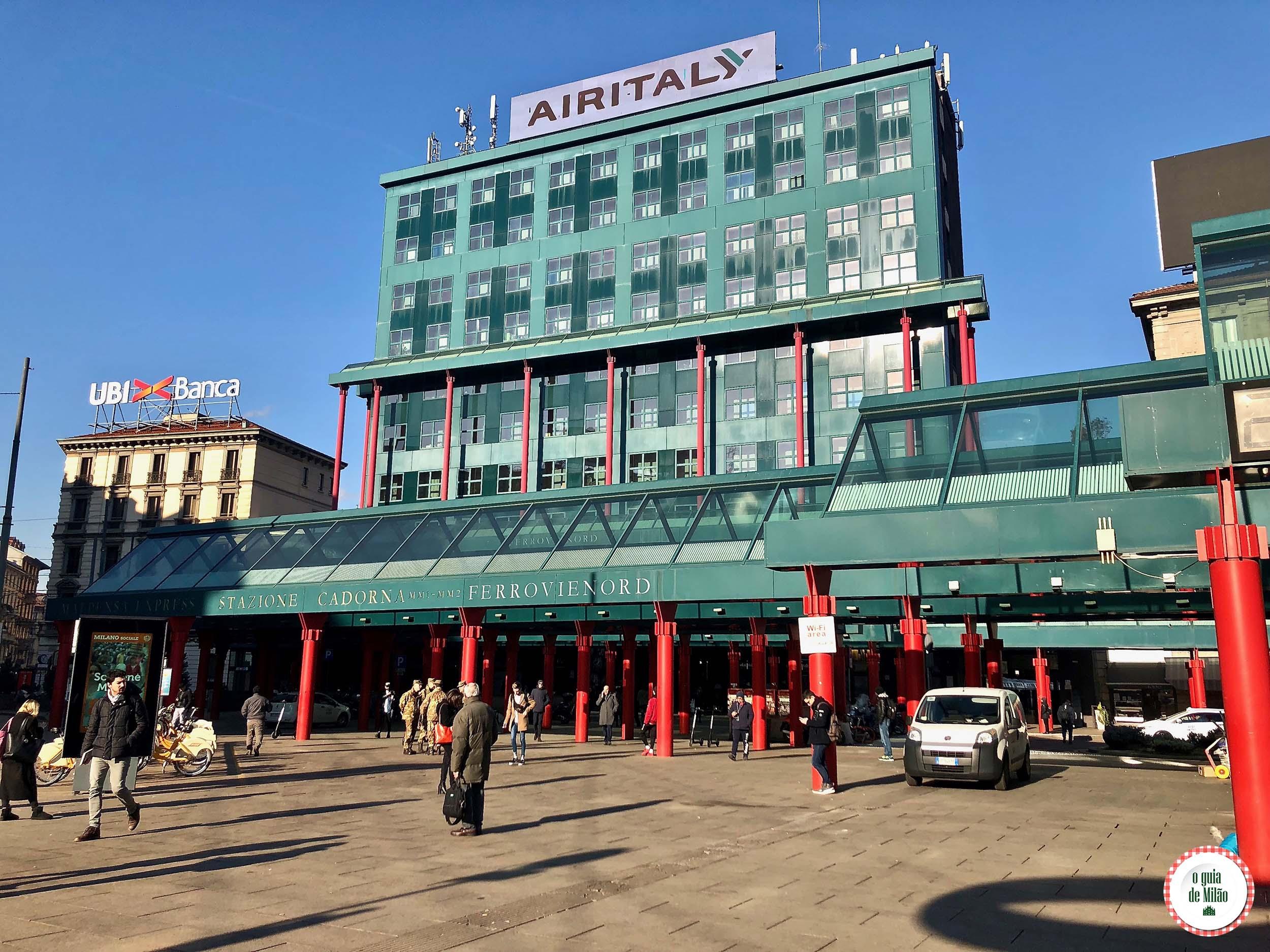 Estação Cadorna em Milão
