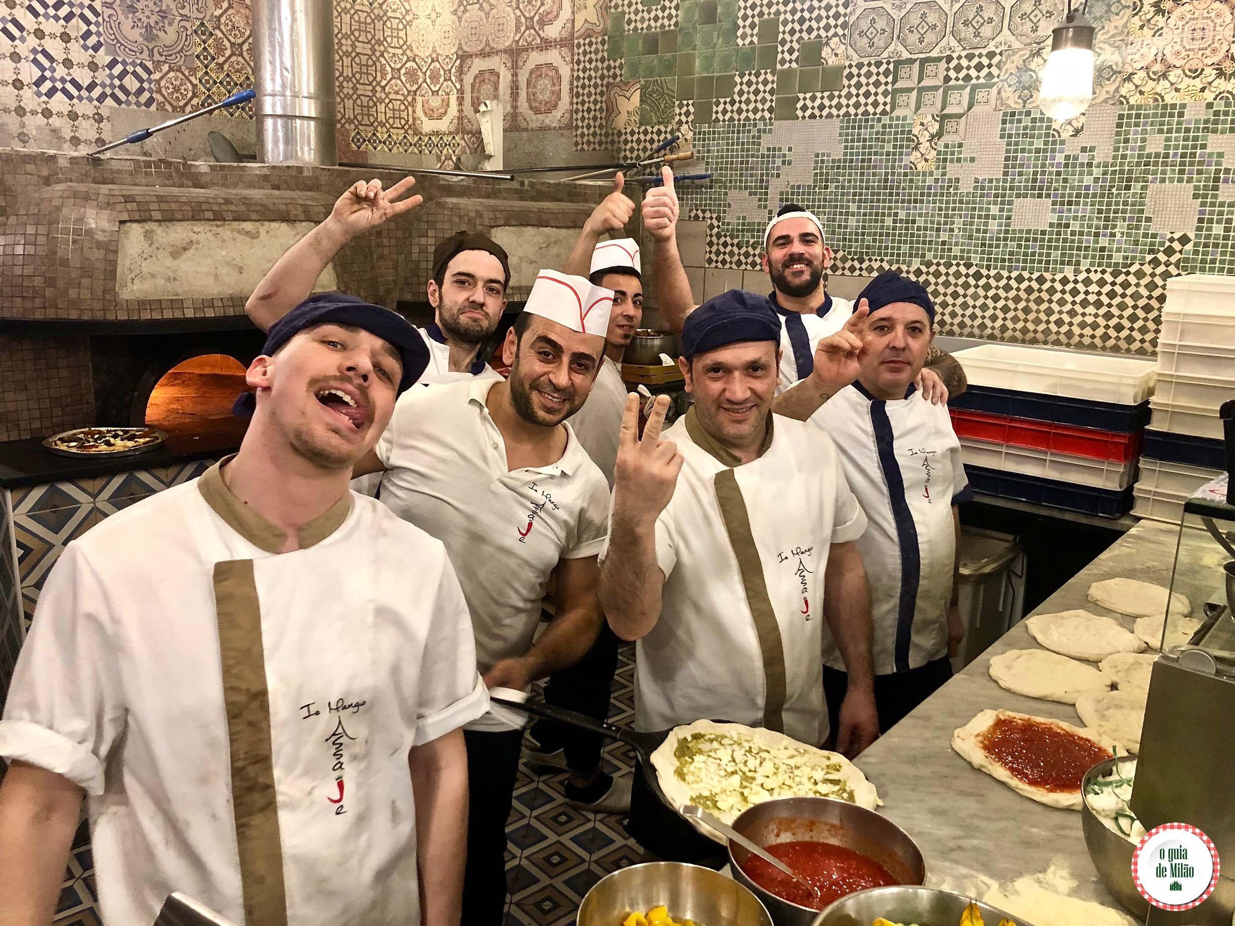 Pizzaria Assaje em Milão