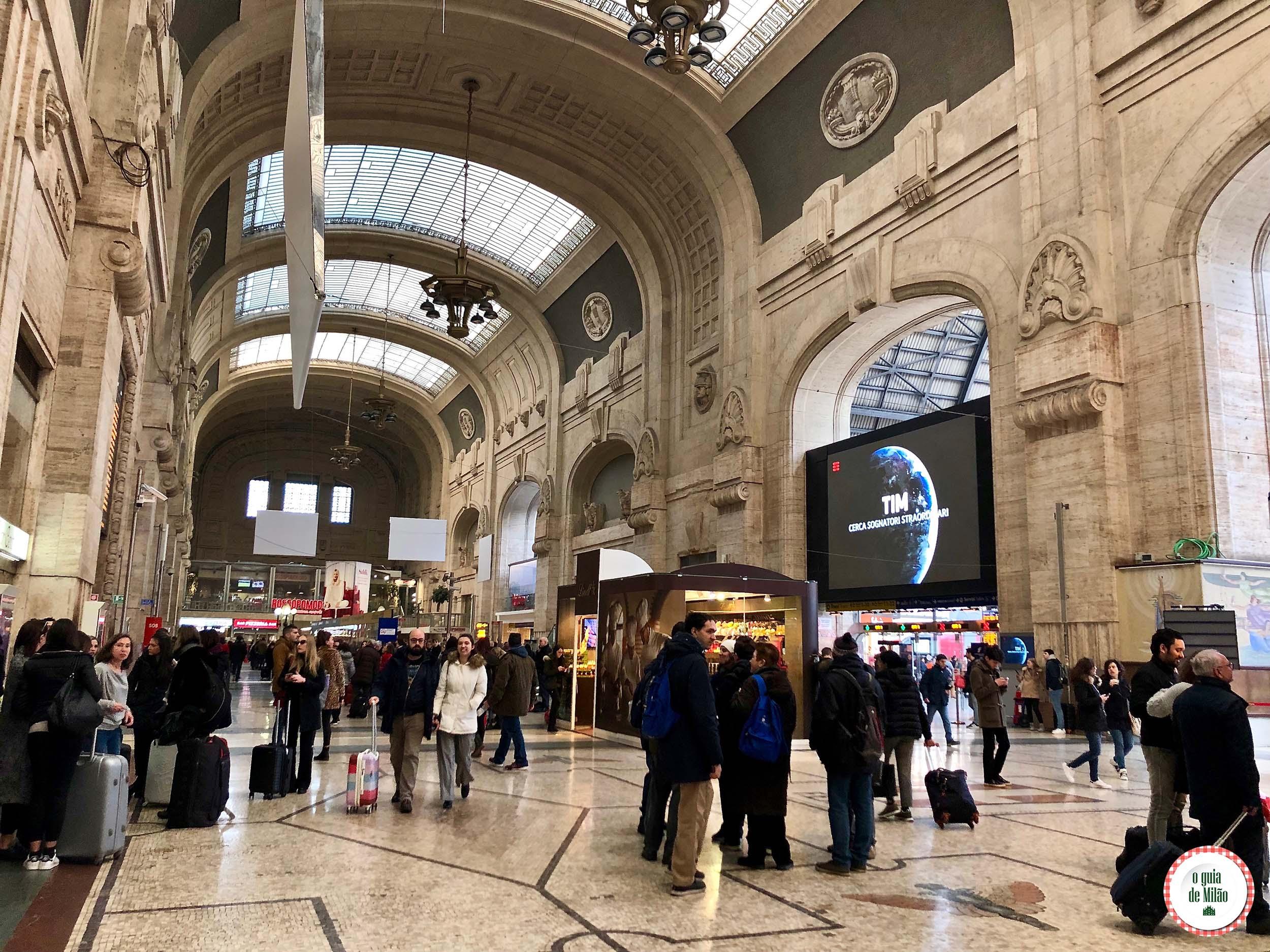 Aonde te leva a linha amarela do metrô de Milão