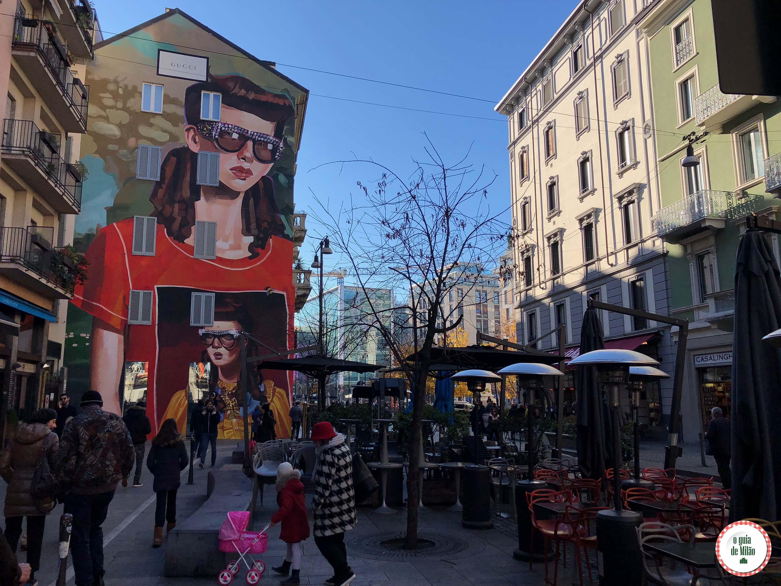 O que fazer no bairro Porta Garibaldi em Milão