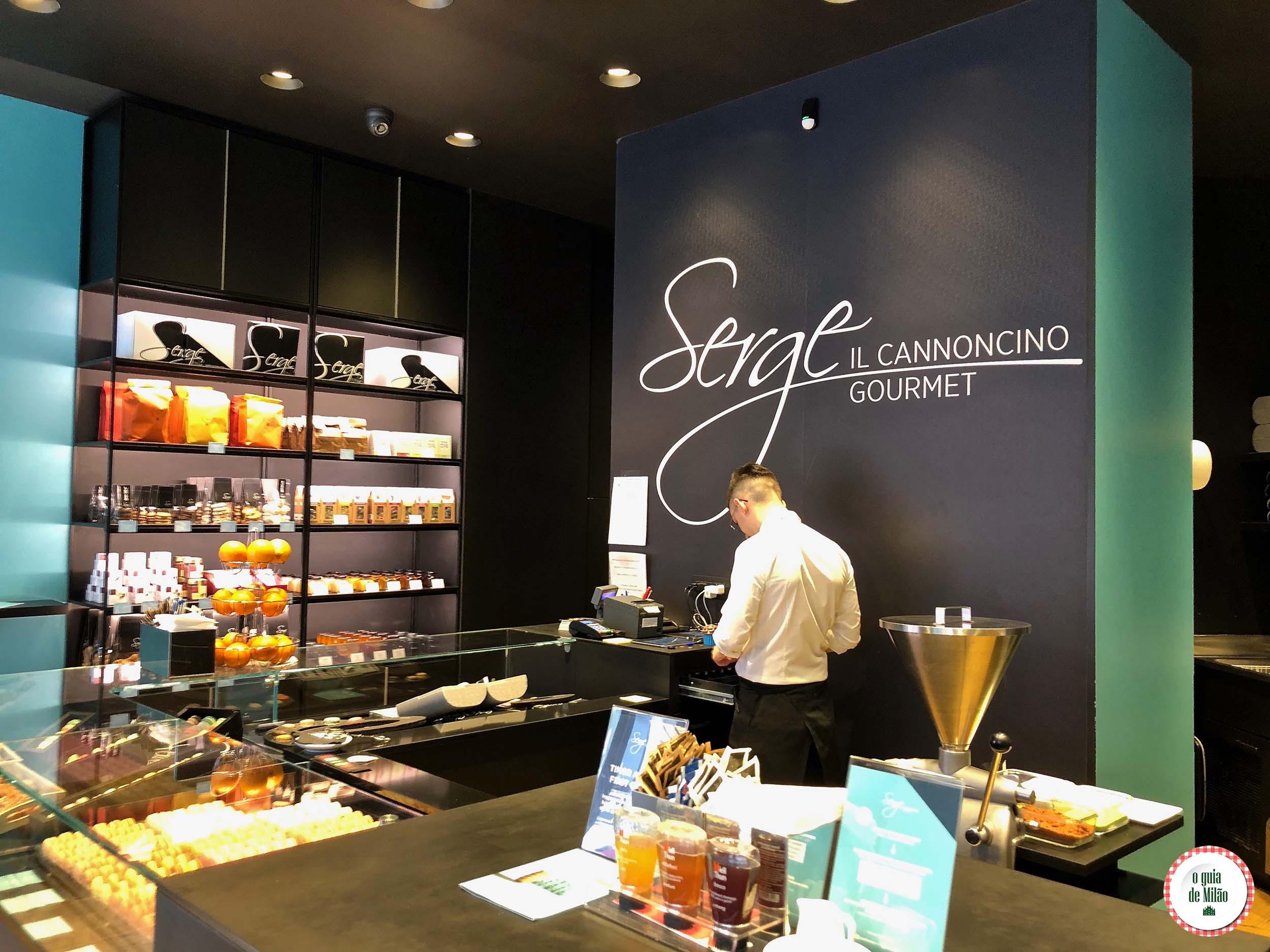 Confeitaria Serge em Milão