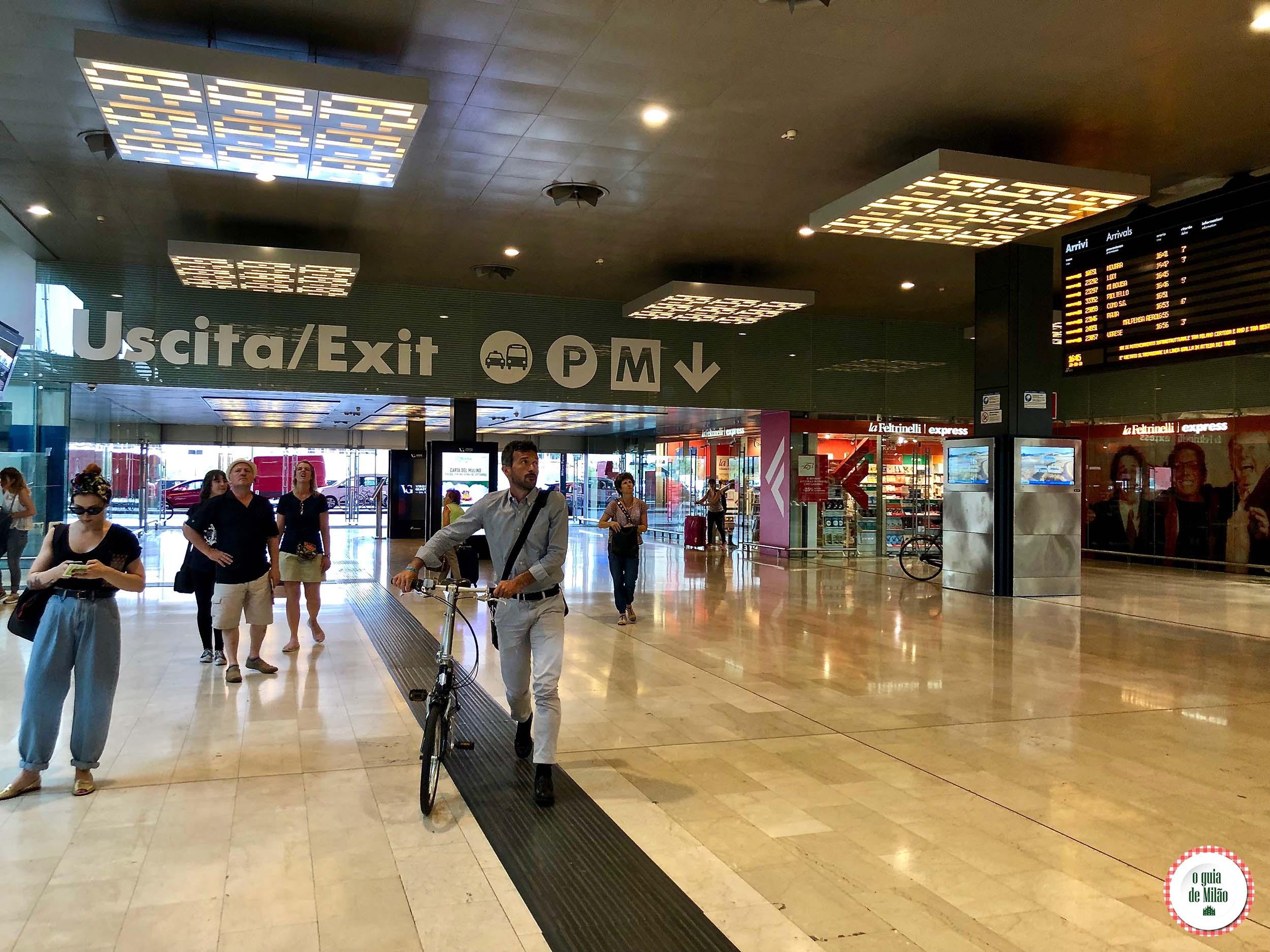 Estação Porta Garibaldi em Milão