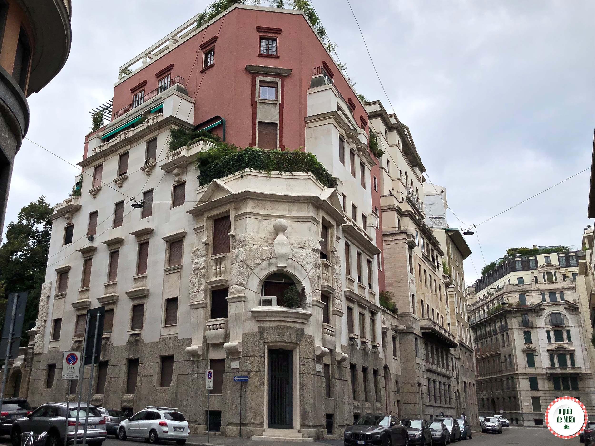 O primeiro interfone da Itália em Milão
